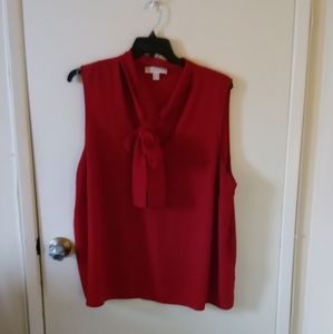 Michael Michael Kors gorgeous red blouse!